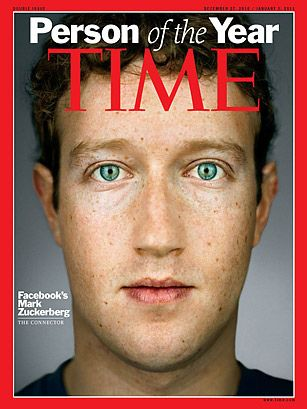 Mark Zuckerberg- TIME's 2010 Person of the Year