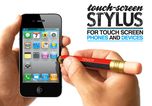 capacitive touch screen stylus clipset