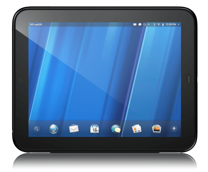 hp touchpad clipset