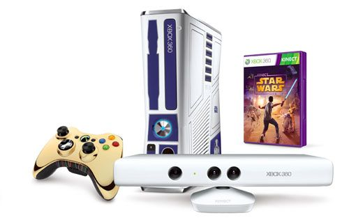 Xbox 360 Limited Edition 'Kinect Star Wars'
