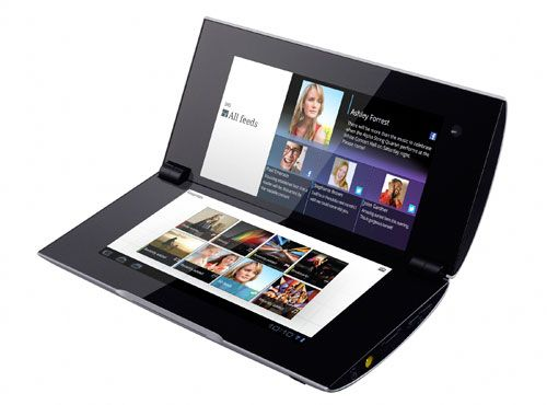 tablet sony P, clipset dual screen