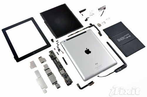 ipad teardown.huge