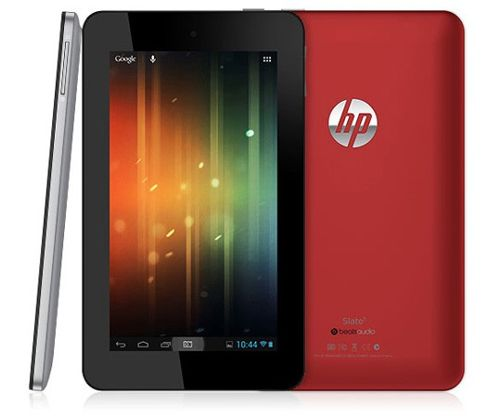 #MWC2013 Slate 7, HP vuelve a los tablets con Android
