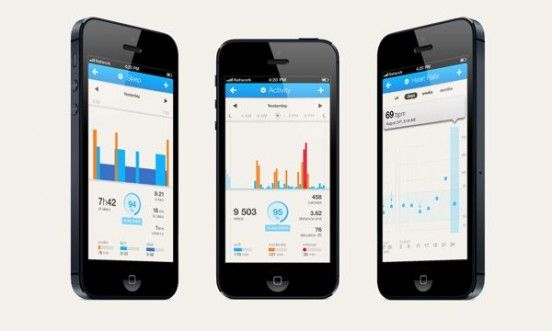 Withings Pulse smartphone Clipset