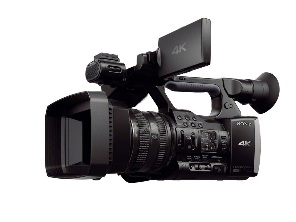 HDR-AX1 side
