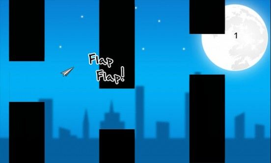 Paper Planet Flappy Game