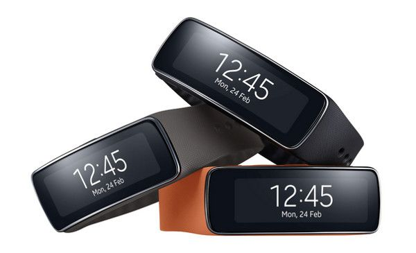 Samsung Gear Fit clipset