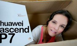 Huawei Ascend P7, unboxing