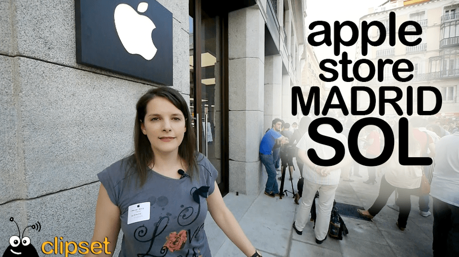 Apple Store Puerta del Sol, vídeo visita