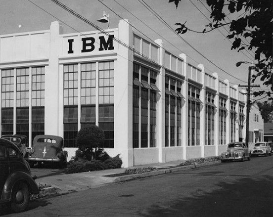 in-1943-ibm-opened-its-first-plant-in-san-jose-at-the-corner-of-sixteenth-and-saint-john-streets-the-facility-accommodated-just-over-100-ibm-employees