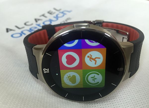 Alcatel Onetouch Watch, unboxing