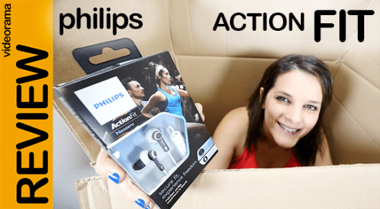 Philips Action Fit vídeo análisis auriculares deportivos