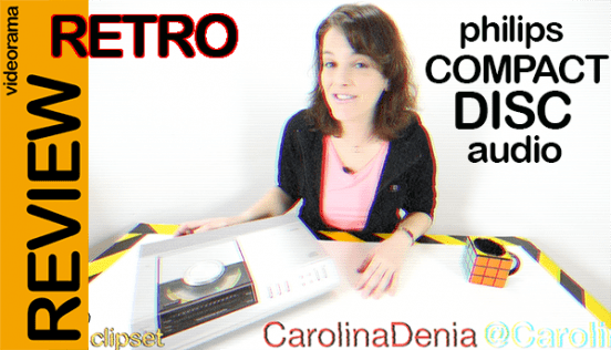 Philips Compact Disc, retro vídeo análisis