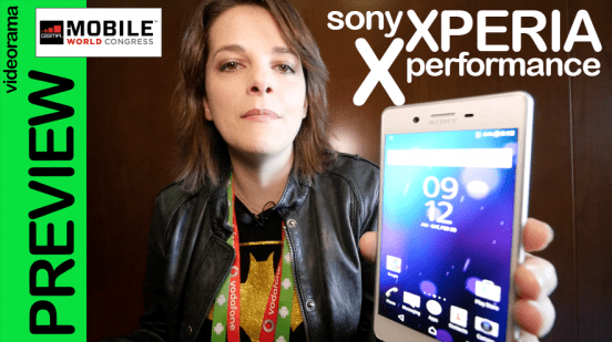 Sony Xperia X performance, primer contacto