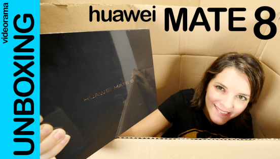 Huawei Mate 8, unboxing