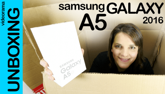 Samsung A5 2016, unboxing
