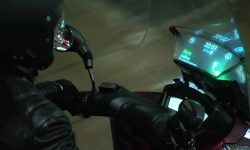 Samsung Smart Windshield, el futurista parabrisas para motos