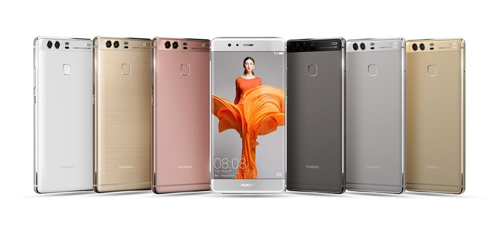 huawei p9 colores