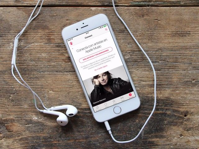 Apple Music Connect iPhone