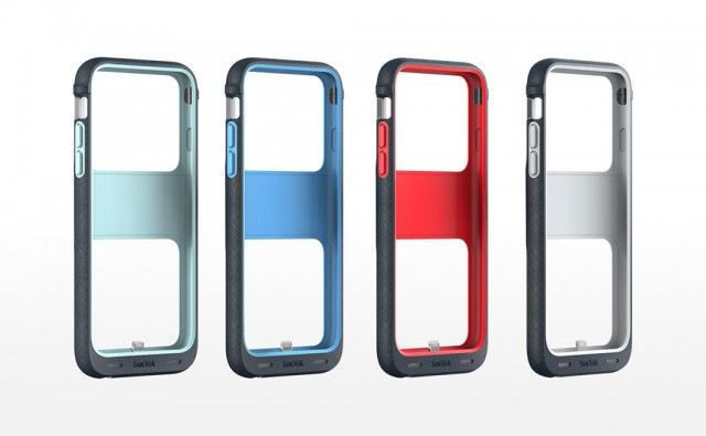 iXpand Memory Case All Colors Front