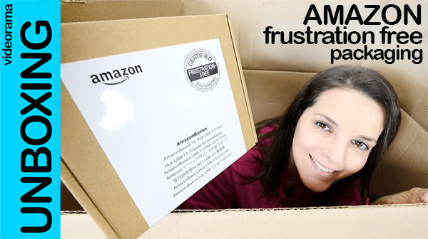 Amazon frustration free packaging unboxing