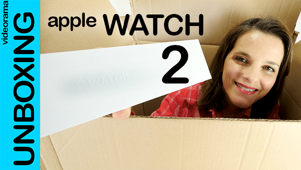 Apple Watch series 2, unboxing