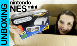 Nintendo NES classic mini, unboxing y gameplay