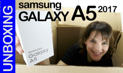 Samsung Galaxy A5 2017, unboxing