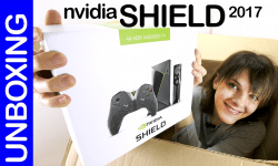 Nvidia Shield Android TV 2017, unboxing